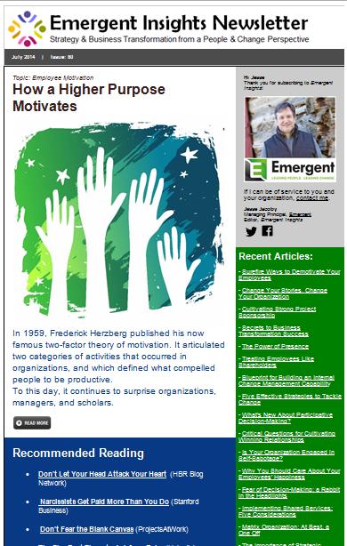 Emergent Insights Newsletter